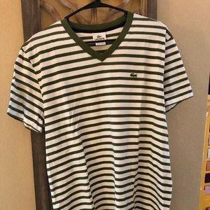 Lacoste Shirt men's L/6. NWOT